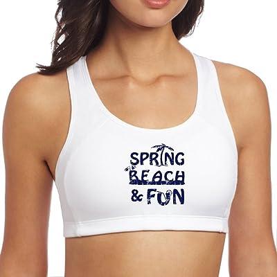 Egg Egg Sports Brasspring Beach Fun Yoga Bras Padded Seamless High Impact Support