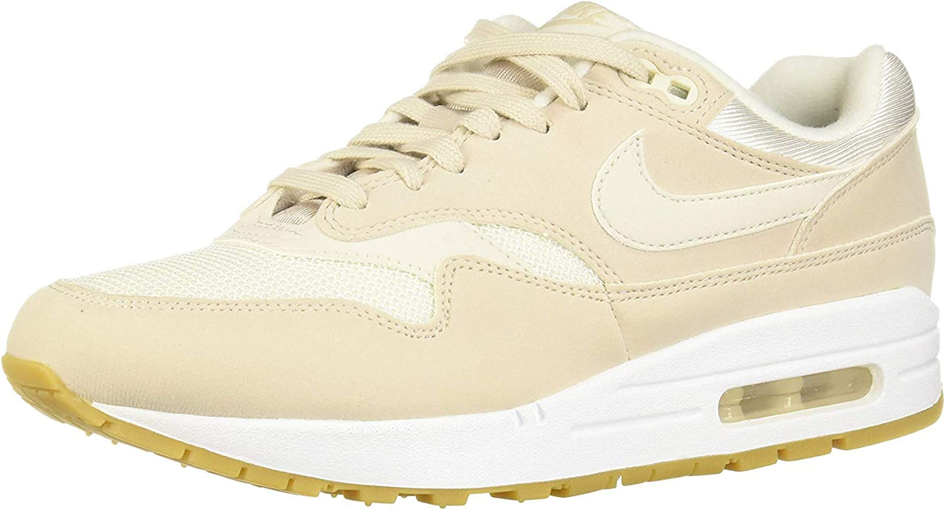 Nike Wmns Air MAX 1, Zapatillas de Running para Mujer, Multicolor (Desert Sand/Phantom/Gum Light Brown 036), 36.5 EU: Amazon.es: Zapatos y complementos