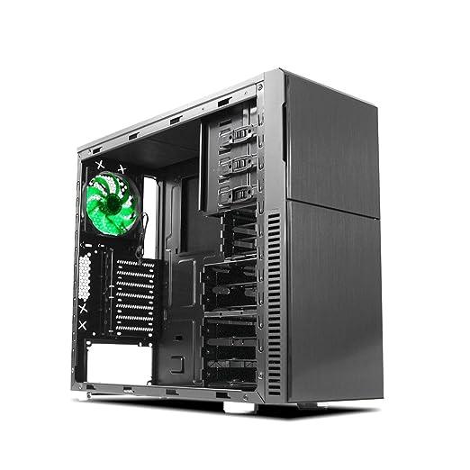 2 opinioni per Nanoxia Deep Silence 3 Midi-Tower Black computer case- computer cases