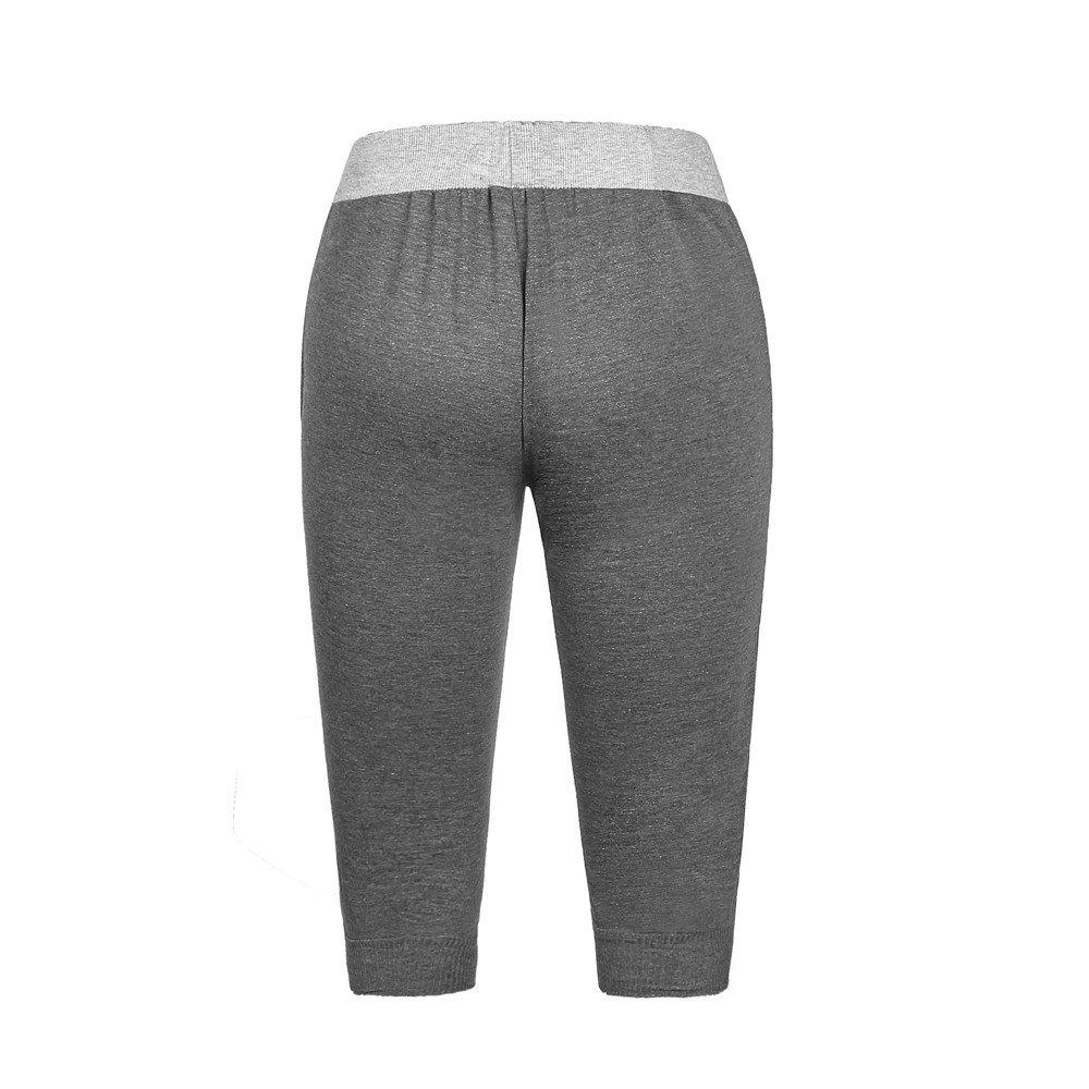 WEUIE Mens Summer Shorts Men Sport Fitness Jogging Bodybuilding Stretchy Bermuda Sweatpants Athletic Short Pants