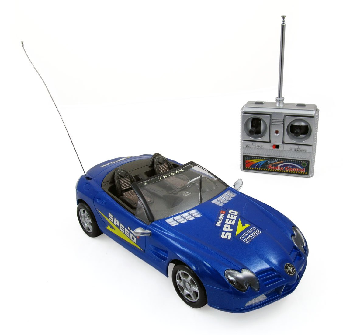 Super R/C Sports Car Radio Control Race Car 1:18 Mode (Farbes Vary)