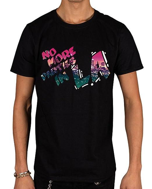 workshop37 Hombre No más partes en la Graphic camiseta Kanye West Yeezus Yeezy Negro negro Medium