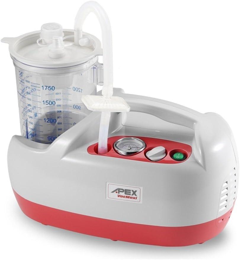 Aspirador secreciones APEX Vac Maxi, hasta 46 litros por minuto ...