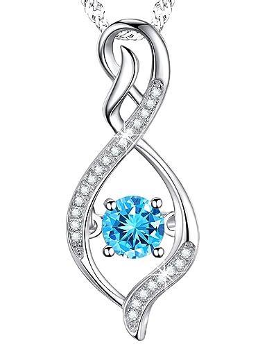 amazon com elda co birthday gift for her for women infinity pendant