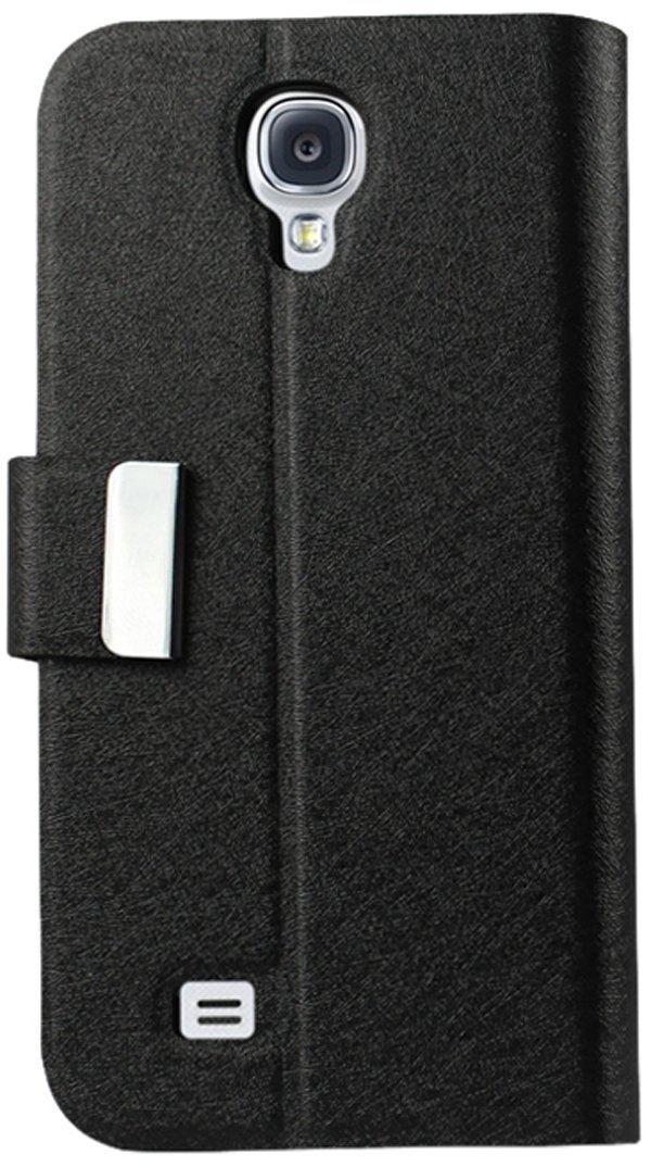 Reiko Fitting Case with Clip for Samsung Galaxy S4 - Retail Packaging - Black