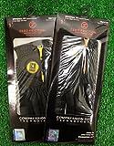 2 Zero Friction Men's LH Universal Fit Golf Gloves - Army - Black