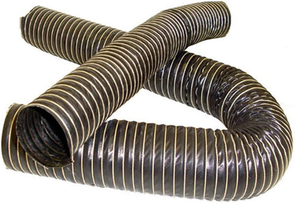 AutoSiliconeHoses 102mm ID 2 Metre Length 2 PLY Black Silicone Ducting