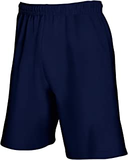 Fruit Of The Loom - Pantaloncini Casual - Uomo (XL) (Blu scuro) UTBC2660_9