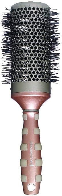 Remington B95T53 Keratin Therapy - Cepillo para el pelo redondo, cerdas de nailon con proteína de queratina
