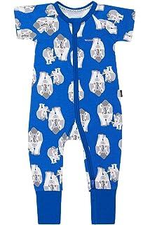 Baby Girl Short Sleeve Organic Bodysuits Argentina Flag Wolf Infant Romper Jumpsuit