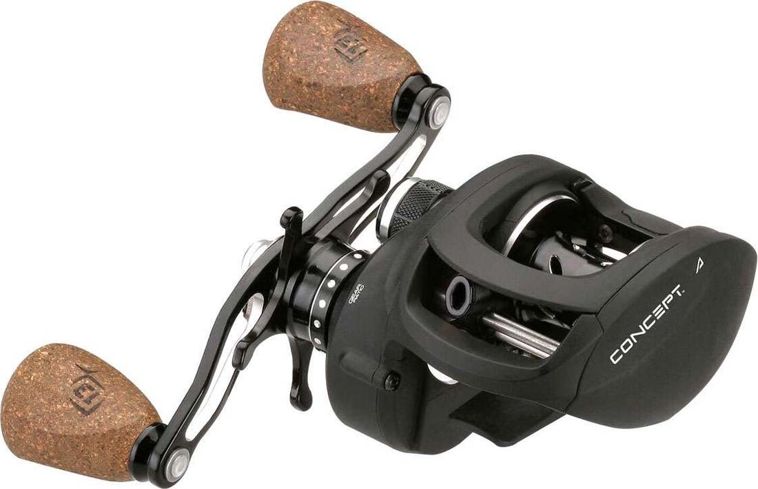 13 FISHING Concept A Baitcast Fishing Reel, Right and Left Hand