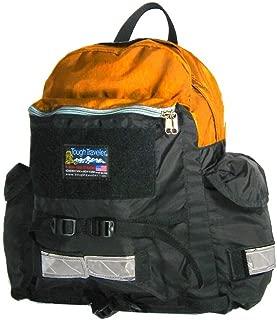 "product image for Tough Traveler""TrekCom"" Laptop Backpack - Made in USA (Orange)"