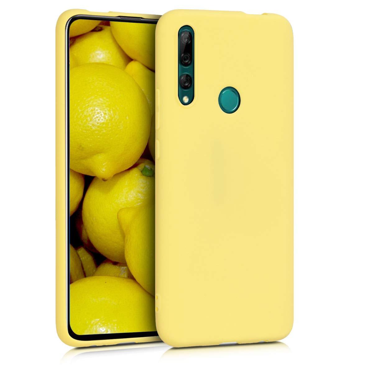 Funda De Silicona Para Huawei Y9 Prime (2019) Amarilla