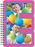 "iscream Letter E Shaped Spiral-Bound Lined-Page 6.5"" Initial Notebook"