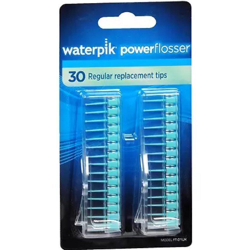 Waterpik Powerflosser Regular Replacement Tips FT-01 30 ea Pack of 5