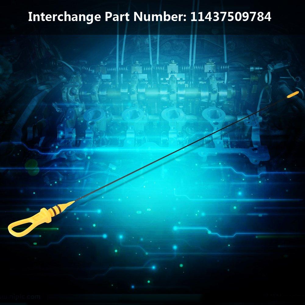 Motor/ölstand /Ölmessstab Rohrwerkzeug f/ür MINI Cooper S R52 R53 01-08 11437509784 /Ölmessstab