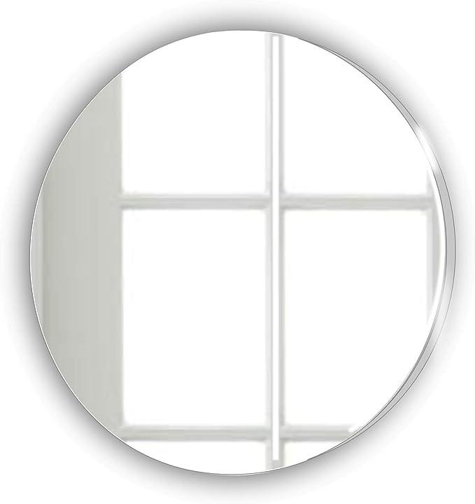 Cercle 20 cm Miroir acrylique incassable MIRRORS-INTERIORS *** Mirror