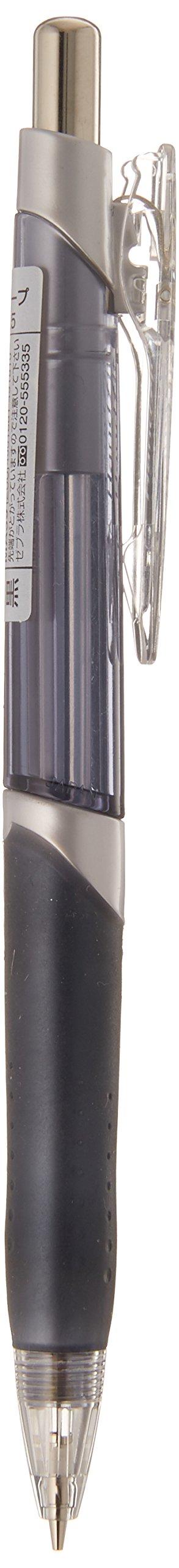 Zebra Hand Fit R - Portaminas, 0,5 mm, color negro