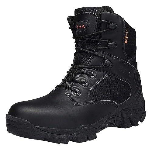 Zapatos Hombre Black Friday Casuales Invierno Botas de Trekking de Escalada para Exteriores Antideslizantes Resistentes al Desgaste para Hombres Combate Las ...