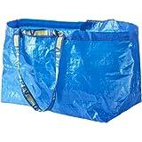IKEA FRAKTA Lot de 10grands sacs de rangement-Idéal pour une utilisation en extérieur et (Charge max-25kg)
