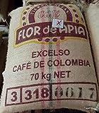 Unroasted Colombian Green Coffee Beans Single Origin Farm El Nivel (50 Lb)