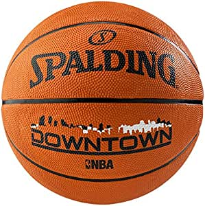 Spalding NBA Downtown Outdoor Sz.7 (83-204Z) Balón de Baloncesto ...