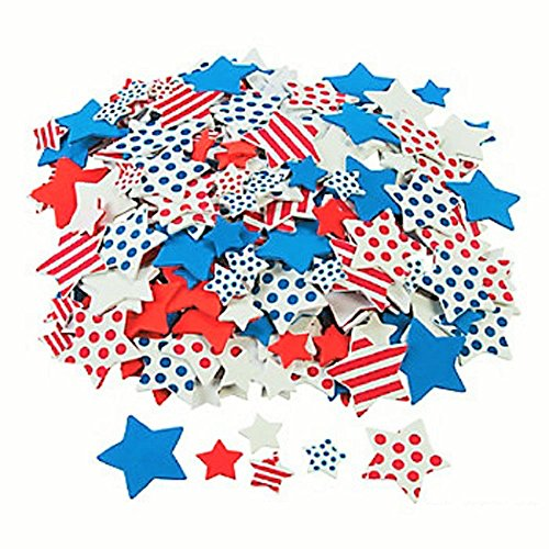 165 ~ Patriotic Star Foam Stickers ~ 1