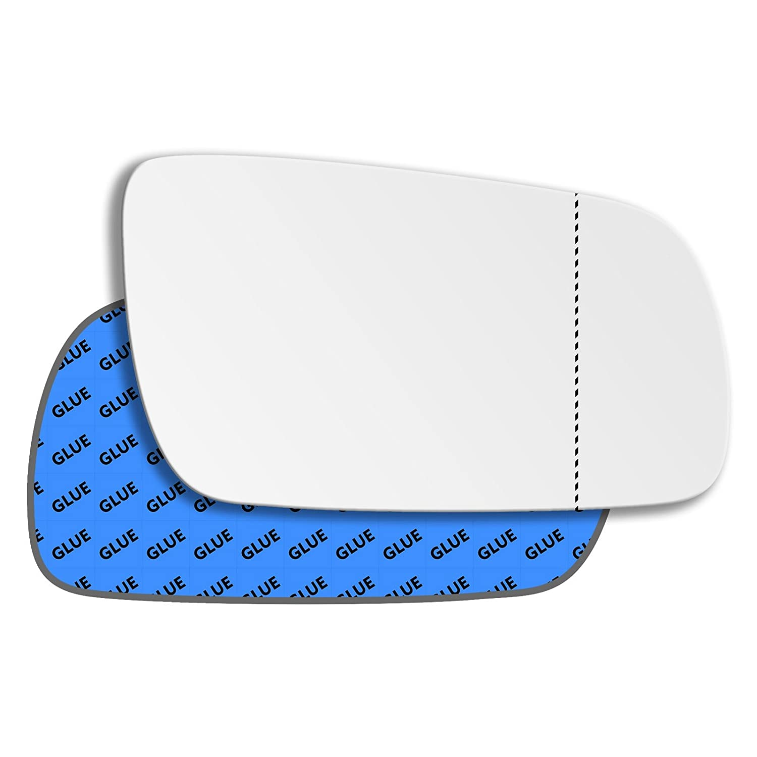 Hightecpl 1RAS Right Hand Driver Off Side Wide Angle Wing Mirror Glass Replacement Channel Autoparts Limited