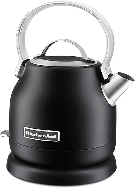KitchenAid KEK1222BM 1.25-Liter Electric Kettle, Black Matte