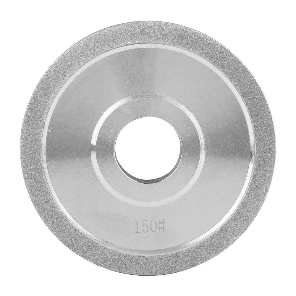 Zerone 12520mm Electroplating Diamond Grinding Abrasive Wheel for Grinder Polishing Machine by Zerone