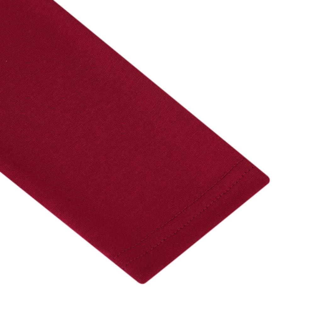 GloryStar Women/'s Casual Long Sleeve Ruched Bodycon Mini Stretchy Sheath Dress