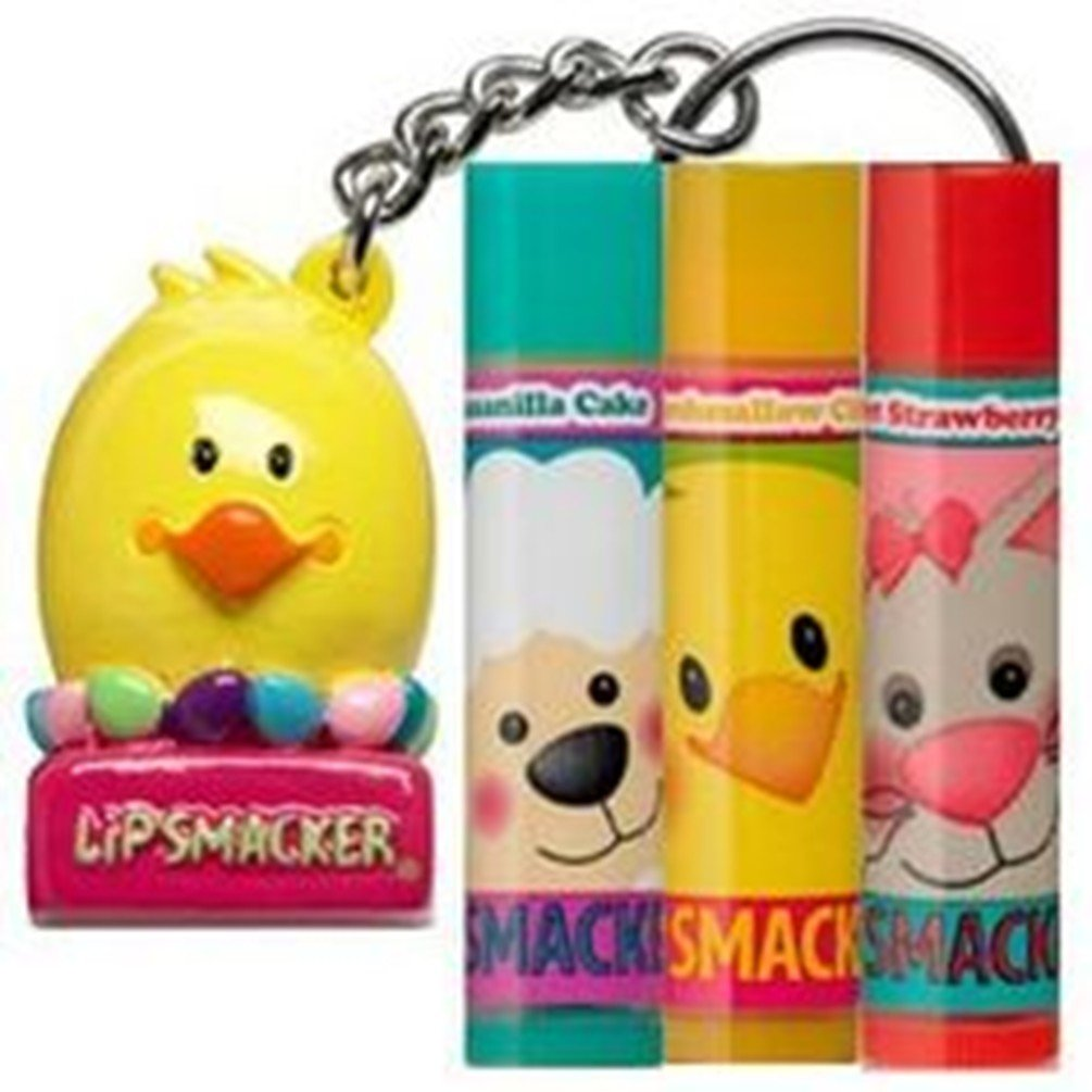 Lip Smacker Happy Chick Lip Balm Collection & Keychain Topper