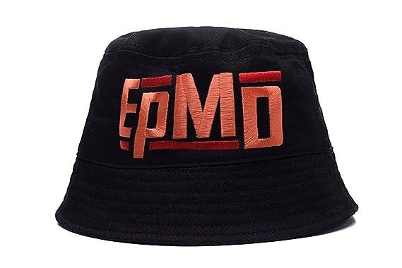6ba2cd964 HENY EPMD Hip Hop Band Logo Embroidery Bucket Hat Fisherman Cap ...