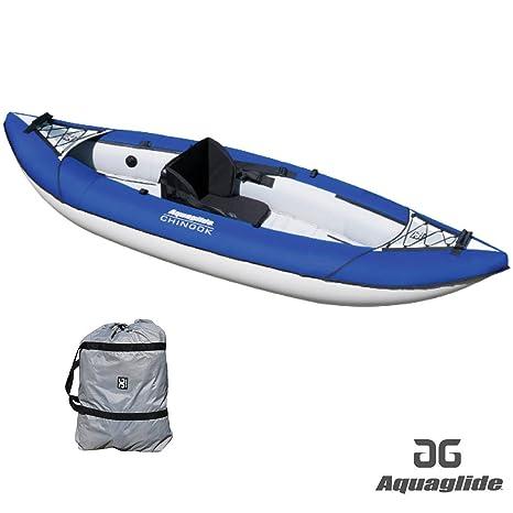 Aquaglide Chinook XP 1 Man Kayak BLUE: Amazon.es: Deportes y aire ...
