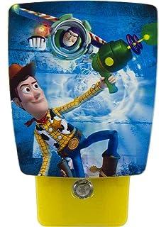 Amazon.com: Disney Pixar Toy Story 3 Buzz Lightyear Kids Room ...:Disney/Pixar Wraparound LED Shade Night Light (Toy Story),Lighting