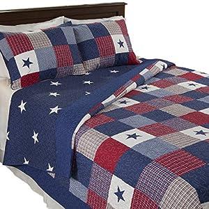 Lavish Home Caroline 2 Piece Quilt Set