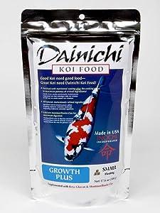 Dainichi Koi Food, Growth Plus, Small Floating (3.5 mm) 1.1 lb