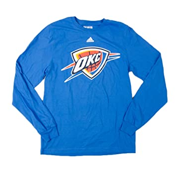 Adidas Oklahoma City Thunder NBA Preferred Logo Men s Long Sleeve – Camiseta, ...