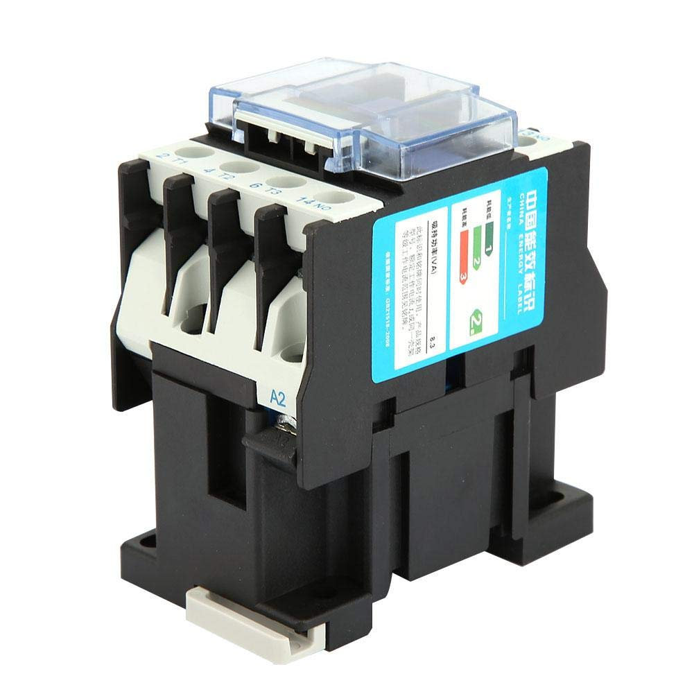 Contactor de CA, Contactor Eléctrico Industrial del Contactor Montaje del Carril de la Bobina CJX2-1210(380V AC)