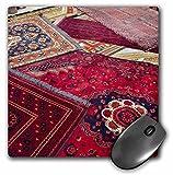 3dRose mp_133137_1 8 x 8-Inch Turkey, Kusadasi. Turkish Carpet Workshop - As37 Cmi07 - Cindy Miller Hopkins Mouse Pad