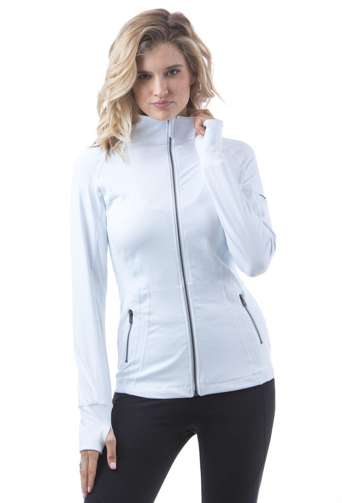 Figur Activ Women's Long Sleeve Beck High Performance Activ Zip-up Jacket