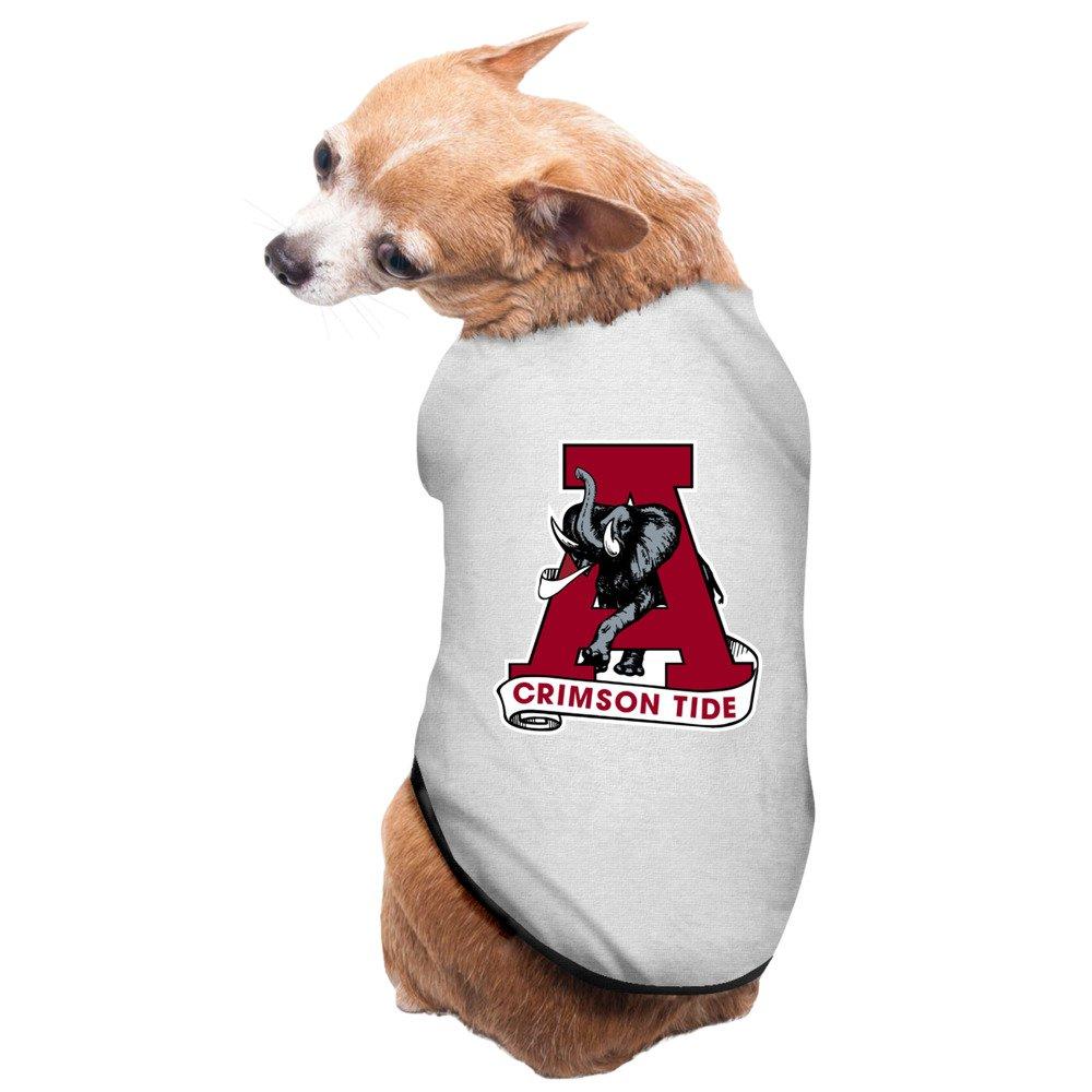 online store 7563a ac1d0 Gray University Of Alabama Crimson Tide NCAA Logos Pet Dog ...