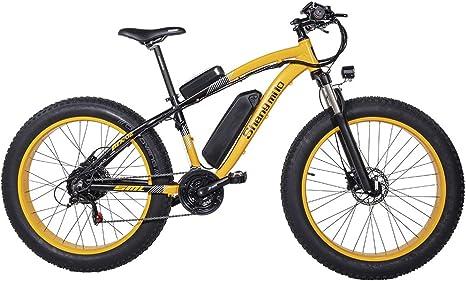 GUNAI Bicicletas Electricas Neumaticos Bicicleta 26 Pulgada 500w ...