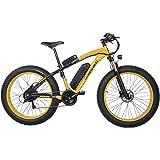 Shengmilo-MX02 26 Pulgadas neumático Gordo Bicicleta eléctrica 1000 W / 500 W Beach Cruiser Hombres Mujeres Montaña e…