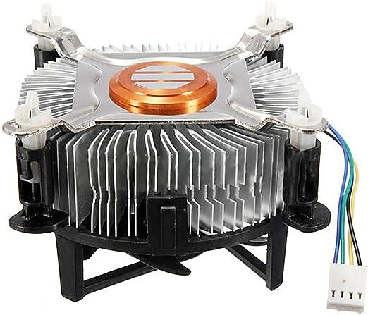 Rouku Ventilador de enfriamiento de CPU de Material de Aluminio ...