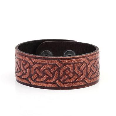 la plus récente technologie design professionnel magasin en ligne Vintage Punk Viking Noeud Celtique Symbole Double-clasp ...