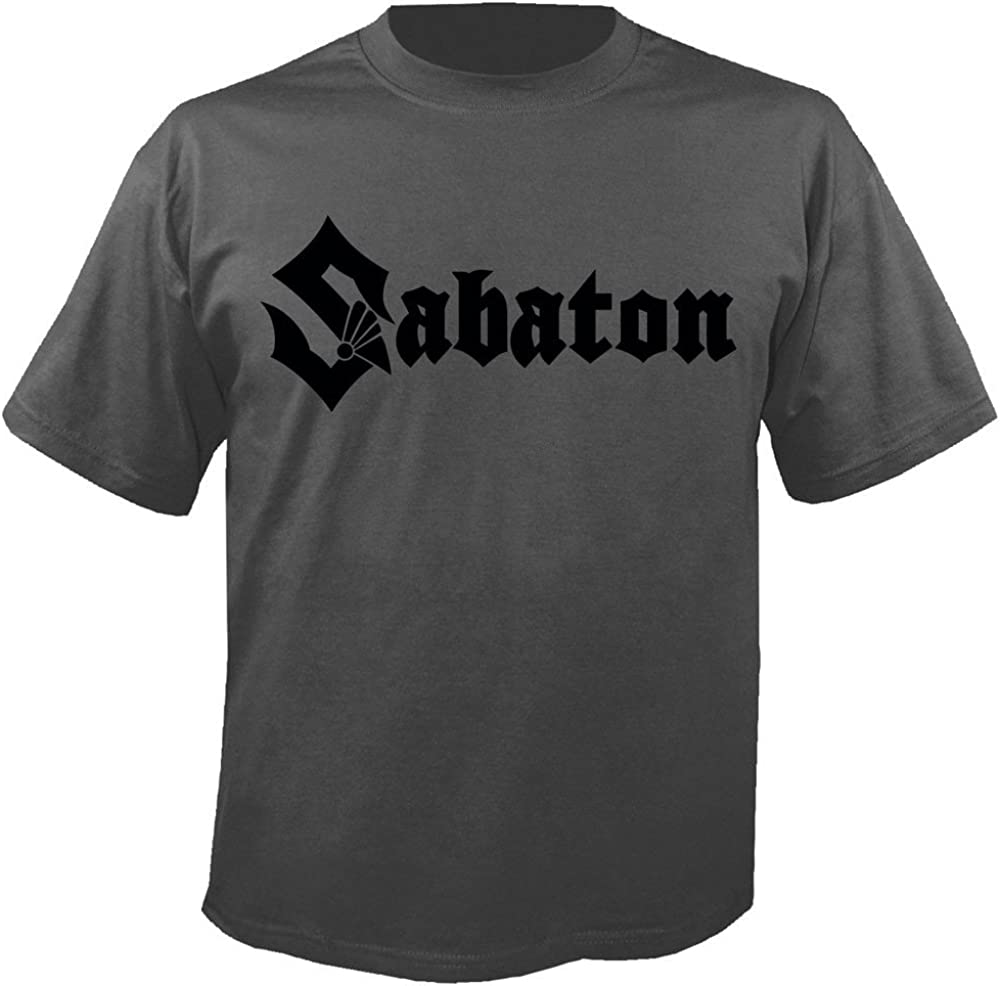 Logo Charcoal Sabaton T-Shirt