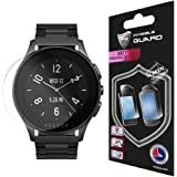 Vector Watch Luna Screen (2 Units) Invisible Protector Anti-Bubble / Ultra HD Clear Shield Skin Anti Scratch By IPG