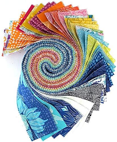(Valori Wells Murmur Design Roll 40 2.5-inch Strips Jelly Roll Free Spirit)