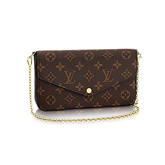 Amazon.com: Louis VUITTON Monogram lona Felicie Cadena ...